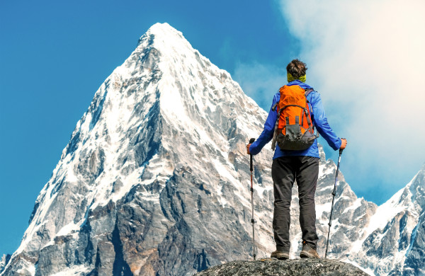 Behavior Change is daunting like climbing a mountain.
