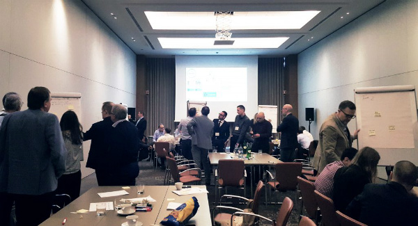 GE Sales Summit 2019 Participants Take Part in Design Thinking to Foster Creativity