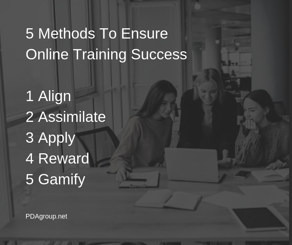 5 Methods to Ensure Online Training Success